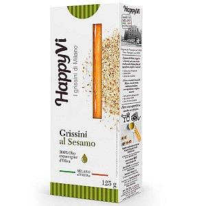 BISCOITO GRISSINI HAPPY GERGILIM 125GR