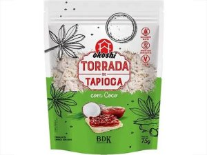TORRADA DE TAPIOCA COM COCO OKOSHI 75