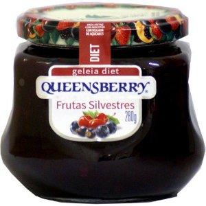 GELEIA QUEENSBERRY DIET FRUTAS SILVESTRES 280G