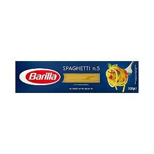 MASSA BARILLA SAPAGHETTI N5 500G