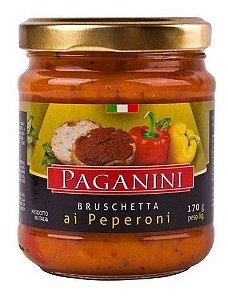 ANTEPASTO BRUSCHETA PEPERONI PAGANINI 170G