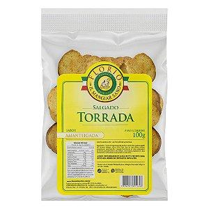 TORRADA SABOR NATURAL AVEIA 100G