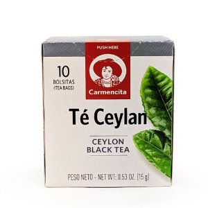 CHÁ CARMENCITA PRETO CEYLAN 15G