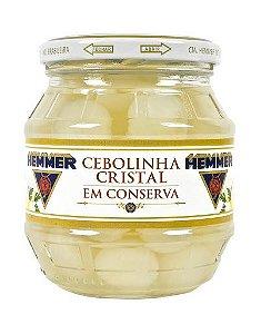 CEBOLINHA CRISTAL EM CONSERVA HEMMER 200G