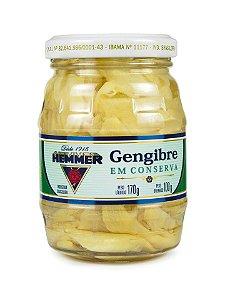 GENGIBRE EM CONSERVA HEMMER 170G