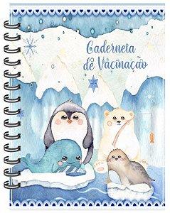 Caderneta Vacinação - Amiguinhos do Gelo