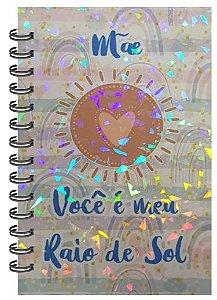 Caderno Mãe Raio de Sol