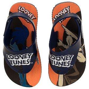 Sandália  Looney Tunes Azul/azul