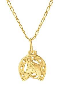 Corrente Ferradura Ouro 18k 750