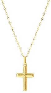 Corrente Crucifixo Ouro 18K 750