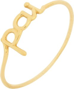Anel Pai Ouro 18k 750