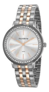 Relógio Mondaine Feminino Redondo Prata 53760lpmvge2