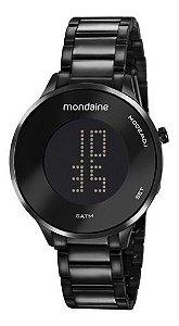 Relógio Mondaine Feminino Redondo Preto 53786lpmvpe3