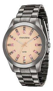 Relógio Mondaine Feminino Redondo Preto 78663lpmvsa8