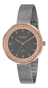 Relógio Mondaine Feminino Redondo Rose Gold 53668lpmvge1