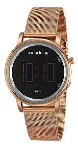 Relógio Mondaine Feminino Redondo Rose Gold 53787lpmvre2