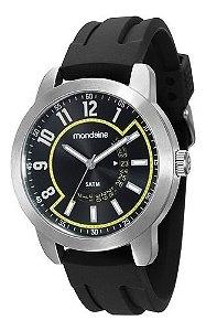 Relógio Mondaine Masculino Redondo Prata 78631g0mvnu2