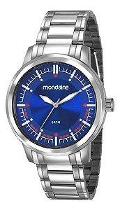 Relógio Mondaine Masculino Redondo Prata 83424G0MVNA1