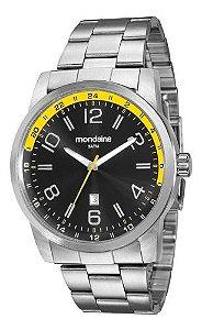 Relógio Mondaine Masculino Redondo Prata 99049g0mvna2
