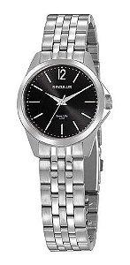 Relógios Seculus  Feminino Redondo Preto 20948l0svna3