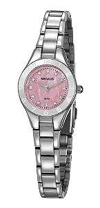 Relógios Seculus  Feminino Redondo Rosa 20889l0svns1