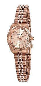 Relógios Seculus Feminino Redondo Rose Gold 77043lpsvra1