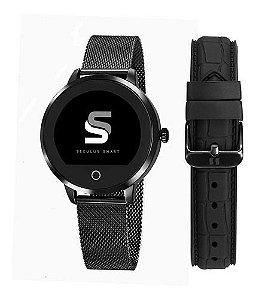 Relógios Seculus Feminino Redondo Smart 79003lpsvpa3