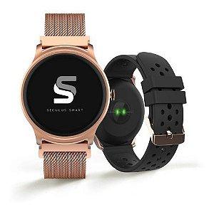 Relógios Seculus Feminino Redondo Smart 79005lpsvre1