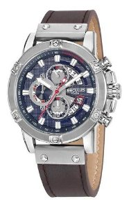 Relógios Seculus Masculino Redondo Azul 23683g0svnc2