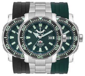 Relógio Orient Diver Masculino Automático Yn8tt002 Titanio