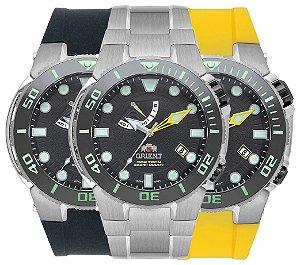 Relógio Orient Seatech Masculino Automático Yn8tt001 Titanio