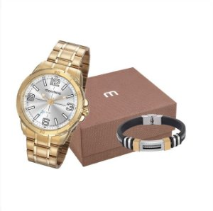 Relógio Mondaine Masculino Analógico Kit Especial