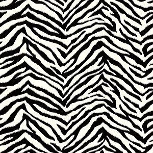 Papel de Parede Vinilizado Listrado Animal Print Zebra