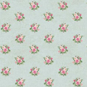 Papel de Parede Roses Natural PN0480