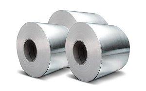 Bobina de alumínio - 0,4 mm - (venda por metro linear)