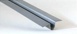 """Perfil """"T"""" galvanizado para forro de PVC - (venda por barra de 6m)"""