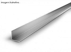 Cantoneira de alumínio natural - (venda por barra de 3 m)