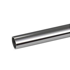 "Tubo redondo de alumínio 1.1/2"" - (venda por barra de 3m)"