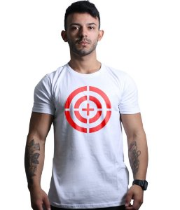 Camiseta oatirador.com Branca