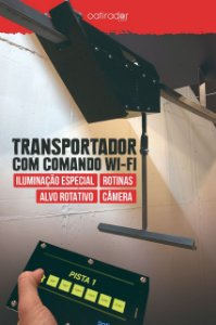 Transportador de Alvo com Comando Wifi no Tablet para Estande de Tiro