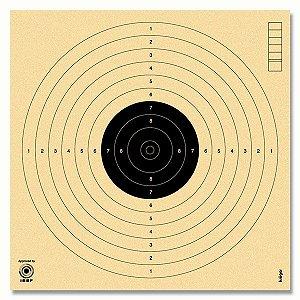 Alvo Krüger Pistola Ar 17x17cm Carabina Mira Aberta 50 unid