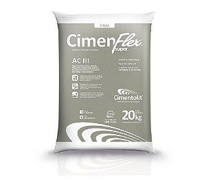 Argamassa 20kg colante AC‑III Cimentolit