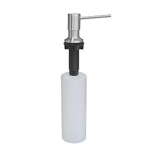 Dosador de sabão em aço inox com recipiente plástico 500ml 94517004 Tramontina