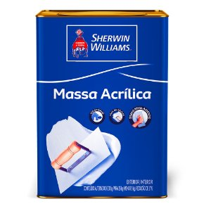 Massa acrílica 25kg Sherwin Williams