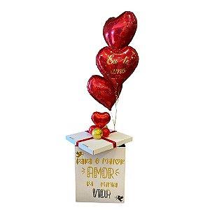 Kit - Caixa Surpresa - Dia dos Namorados