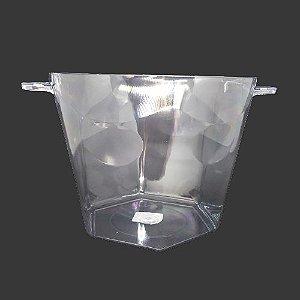 Baldinho de Bebidas Transparente 4250ML
