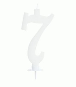 Vela Grande Branca N° 7