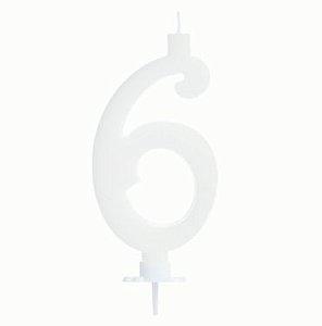 Vela Grande Branca N° 6