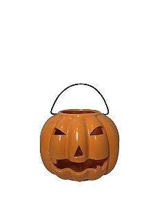 Abóbora Halloween com Alça M