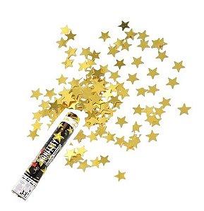 Lança Estrela Dourada Metalizada